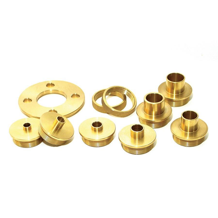 BTG-100 10-Piece Brass Template Guide Set