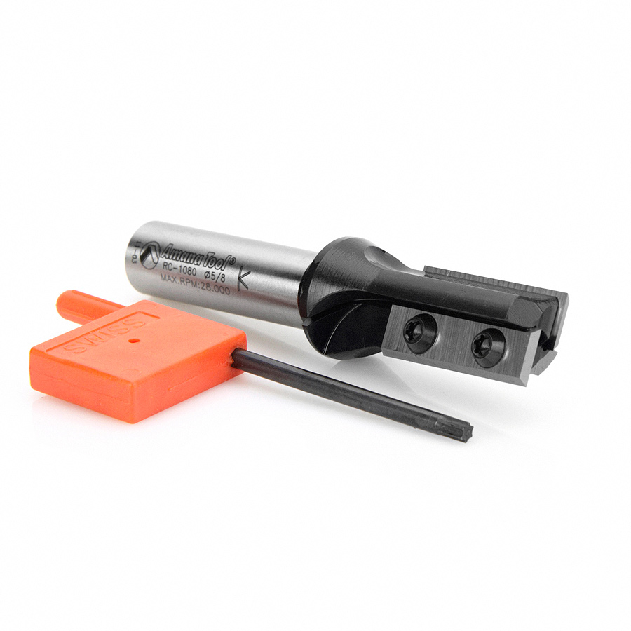 RC-1080 Insert Carbide Straight 5/8 Dia x 30mm x 1/2 Inch Shank
