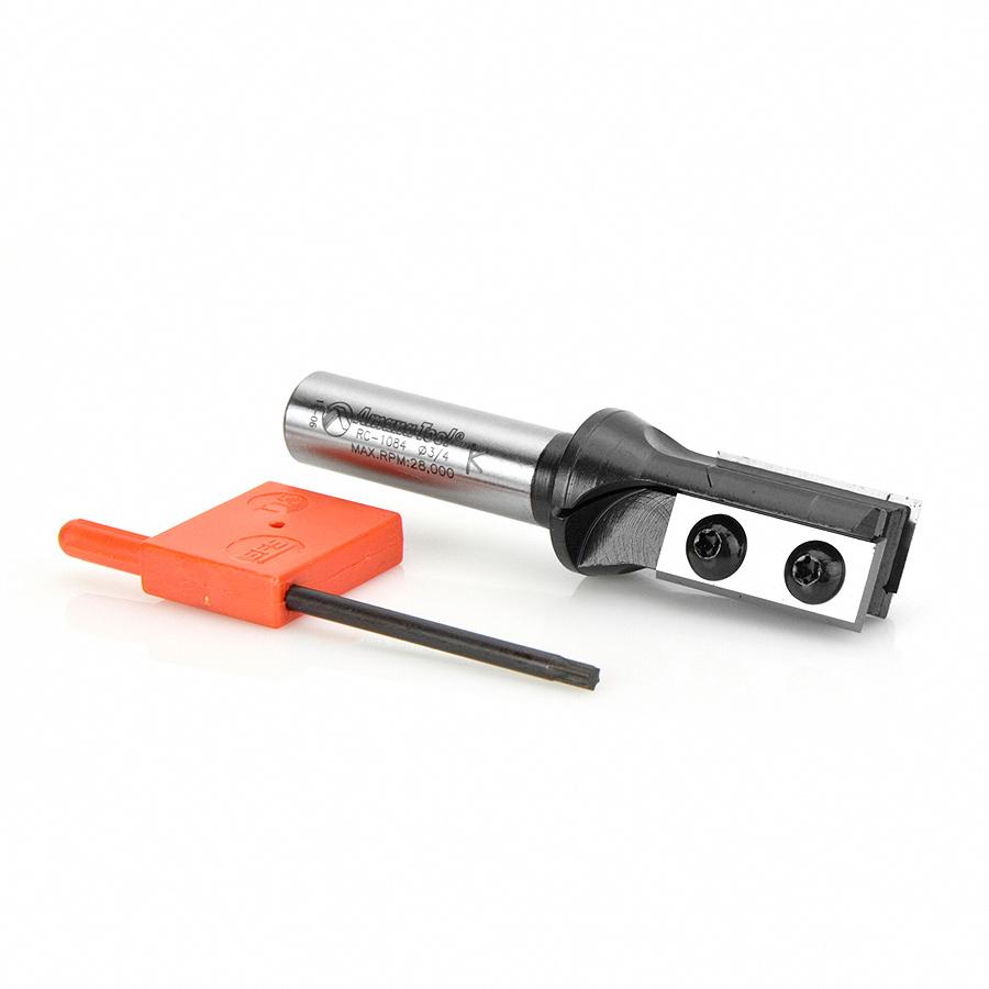 RC-1084 Insert Carbide Straight 3/4 Dia x 30mm x 1/2 Inch Shank