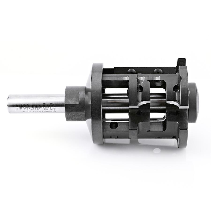 RC-2210 CNC Insert Double Rounding and Chamfering 10mm Radius x 90mm Dia x 22-62mm x 3/4 Shank