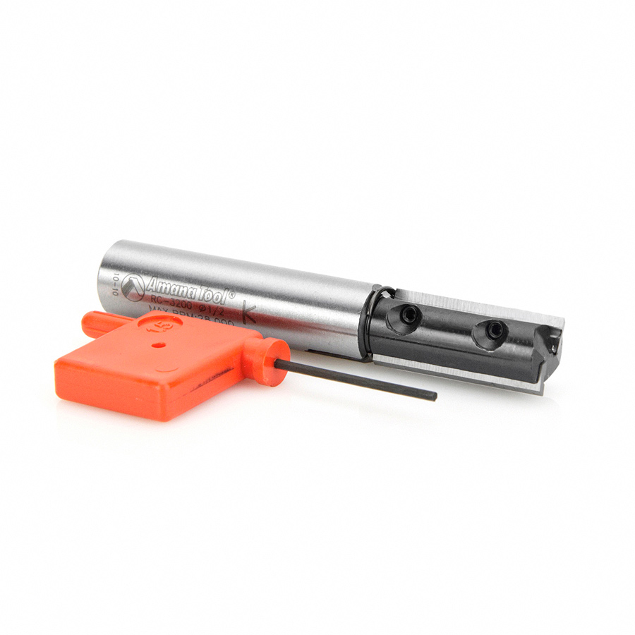 RC-3200 CNC Insert Straight 1/2 Dia x 30mm x 1/2 Inch Shank