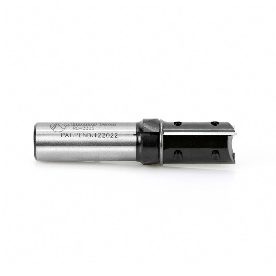RC-3305 CNC Insert Straight 3-Flute x 3/4 Dia x 30mm x 5/8 Shank