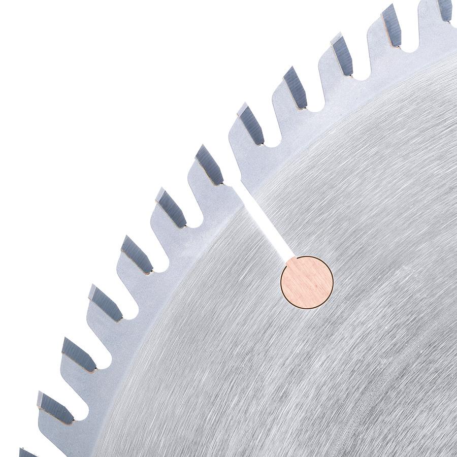 DT10801 Carbide Tipped Ditec 2000 Cut-Off and Crosscut 10 Inch Dia x 80T TCG, 10 Deg, 5/8 Bore