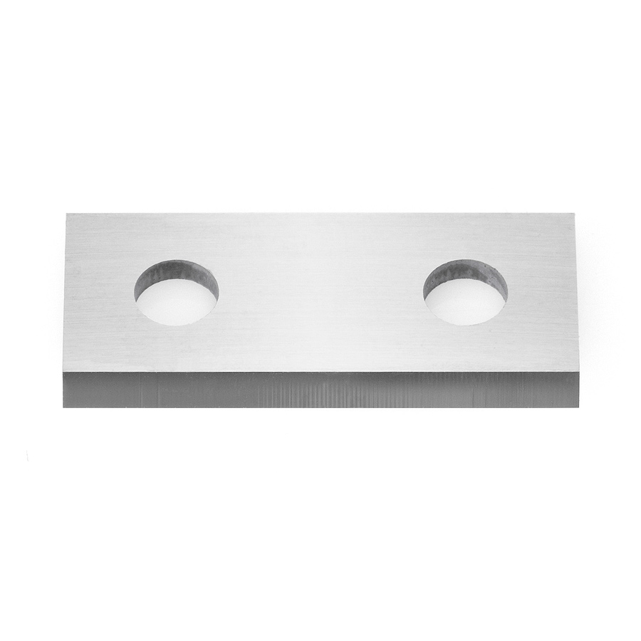 HCK-25 Solid Carbide 2 Cutting Edges Insert Knife MDF, Chipboard, Solid Surface 25 x 12 x 1.5mm