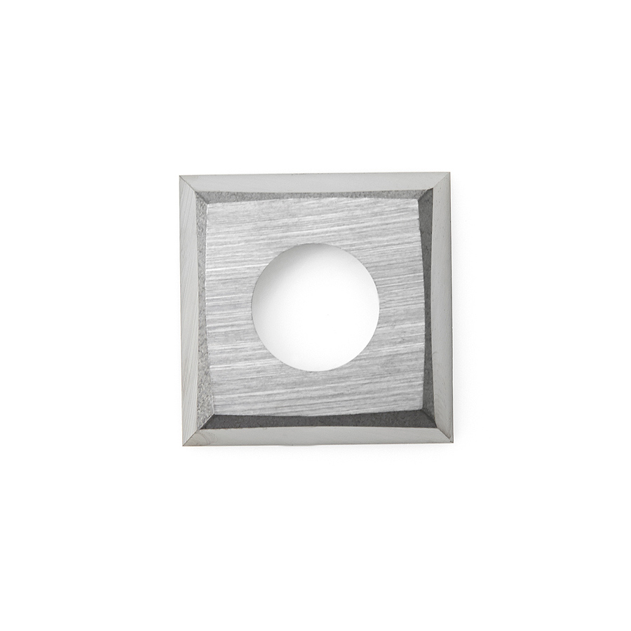 HCK-70 Solid Carbide 4 Cutting Edges Insert Knife MDF, Chipboard, Solid Surface 14 x 14 x 2mm