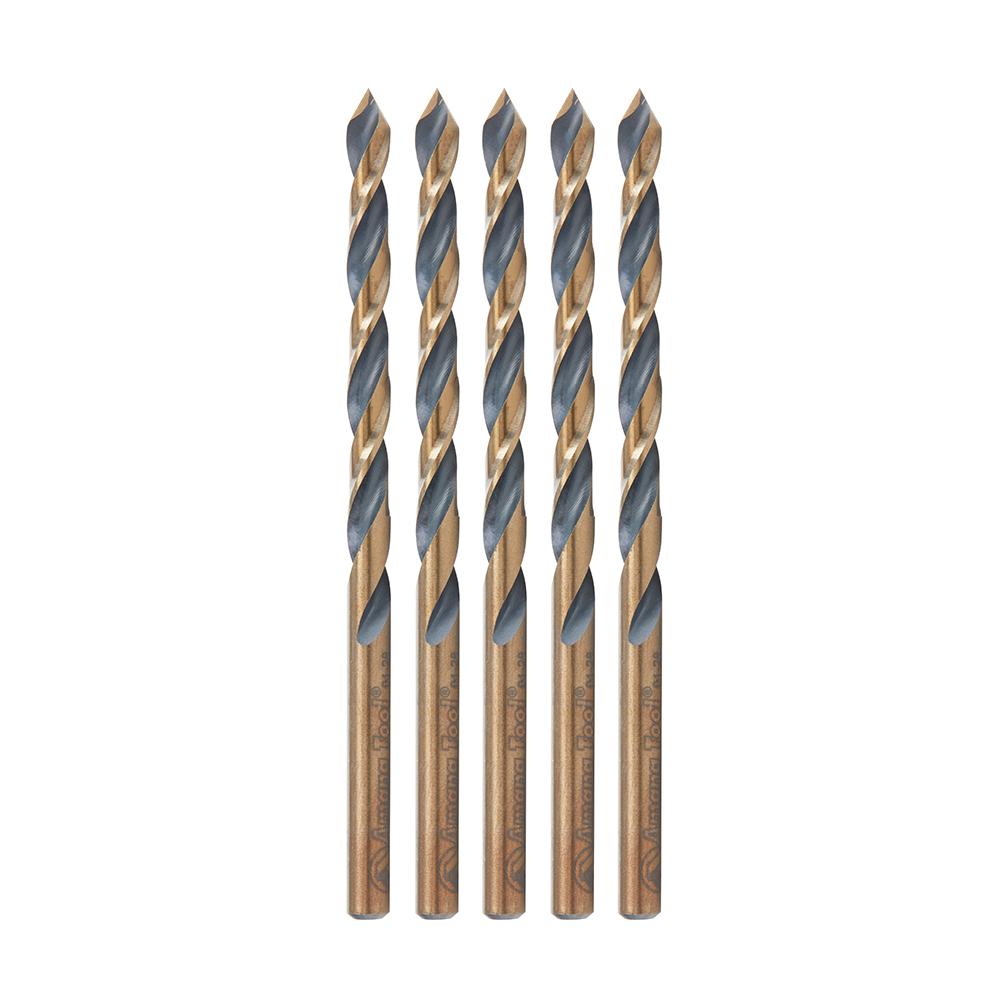HSS1522 5 Pack High Speed Steel (HSS) Plastic 3/16 Dia x 2-1/8 x 3/16 Shank Drill