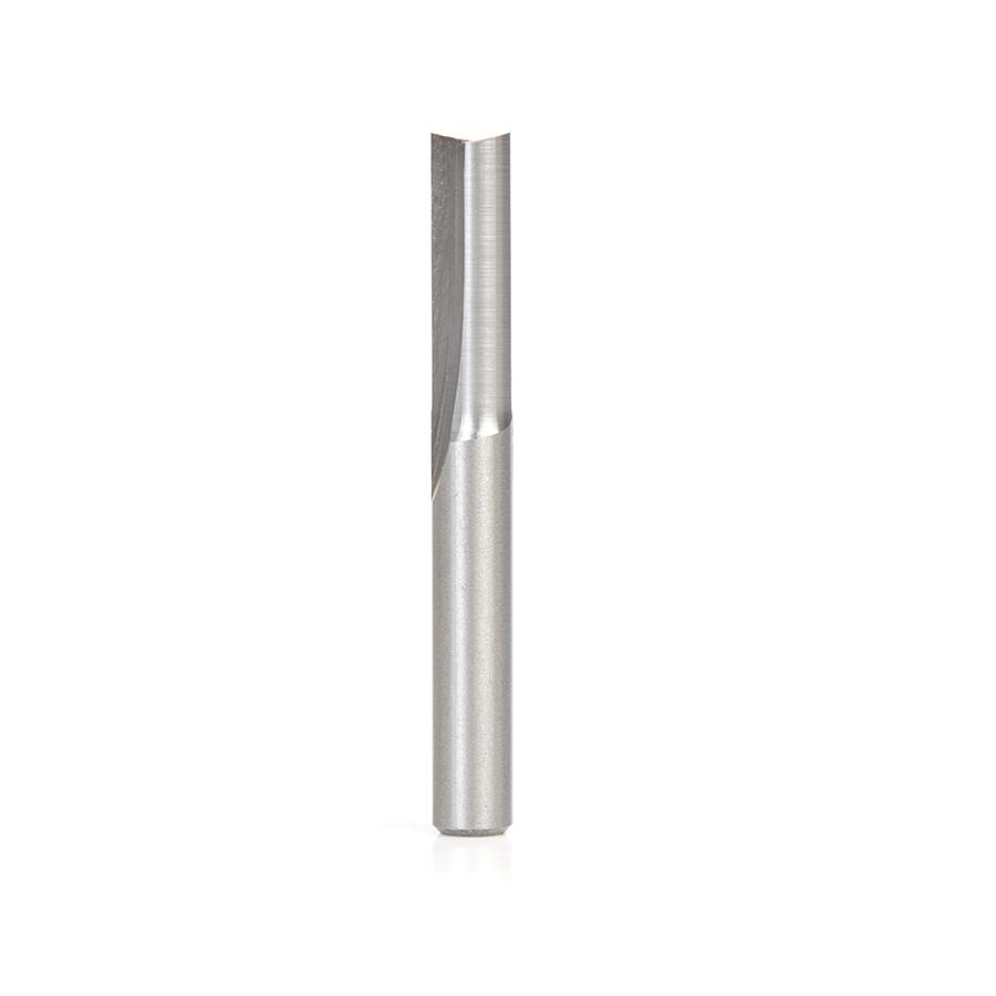 HSS1610 High Speed Steel (HSS) Foam Cutting Straight V-Flute 1/4 Dia x 3/4 x 1/4 Shank Router Bit