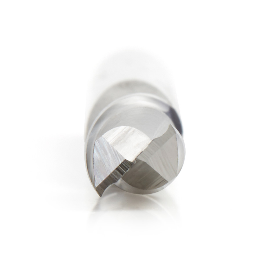 HSS1634 High Speed Steel (HSS) Double Flute Spiral Aluminum Cutting 1/4 Dia x 3/4 x 1/4 Inch Shank Up-Cut Router Bit