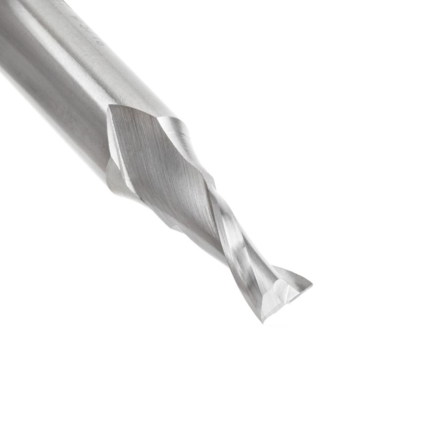 HSS1637 High Speed Steel (HSS) Double Flute Spiral Aluminum Cutting 5/16 Dia x 3/4 x 1/2 Inch Shank Up-Cut Router Bit