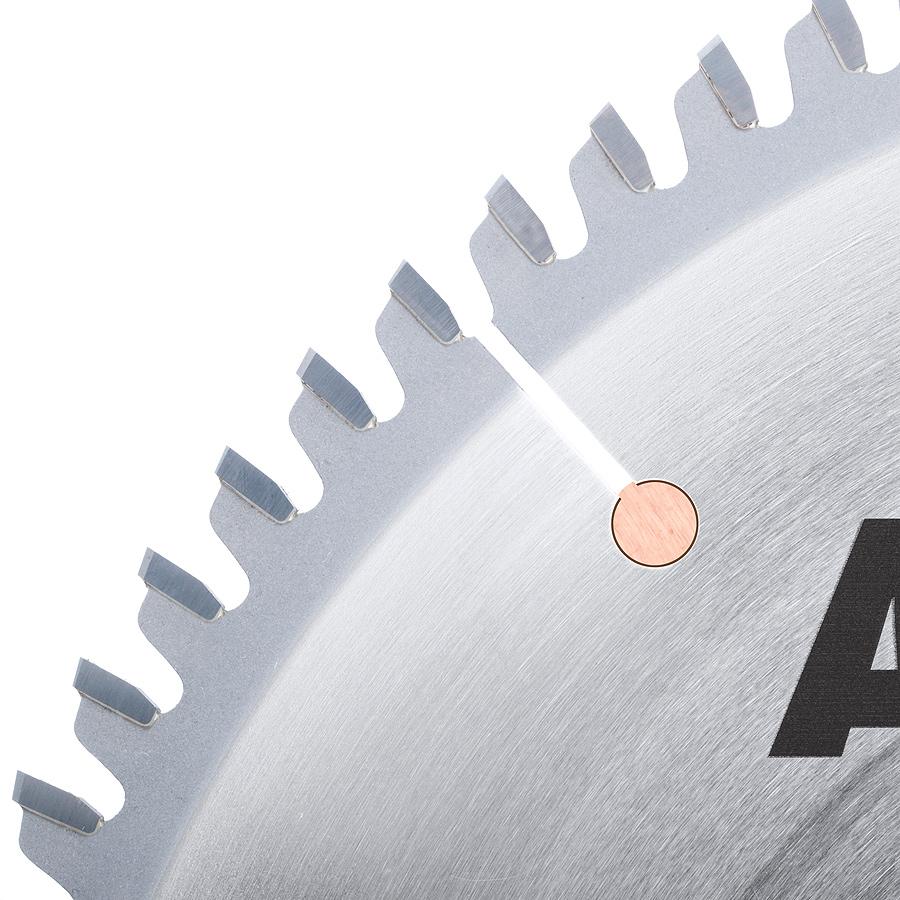 LB10801 Carbide Tipped Non-Melt Plastic 10 Inch Dia x 80T M-TCG, -2 Deg, 5/8 Bore