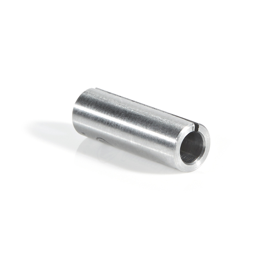 RB-101 High Precision Steel Router Collet Reducer 1/4 Overall Dia x 4mm Inner Dia x 3/4 Inch Long
