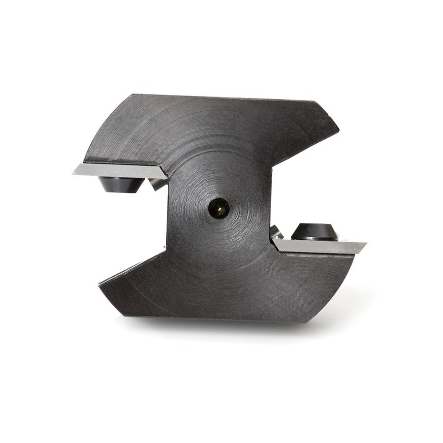 RC-2248 Insert Carbide Mini Spoilboard Surfacing, Rabbeting, Flycutter, Slab Leveler & Surface Planer 1-1/2 Dia x 15/32 (12mm)  x 1/4 Inch Shank Router Bit