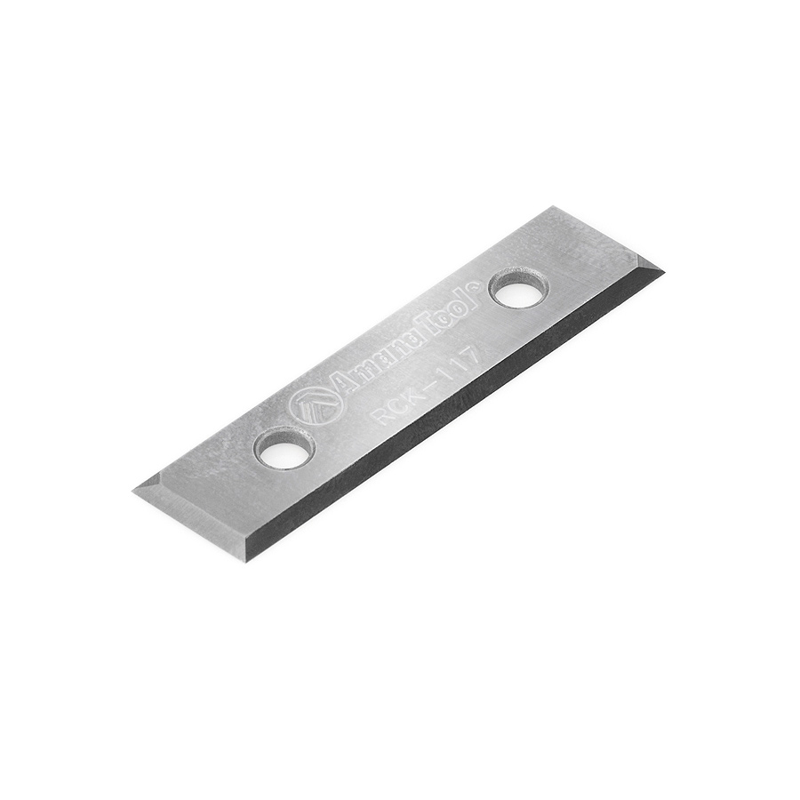 RCK-117 Solid Carbide Miter Fold Insert Knife 48 x 12 x 1.5mm