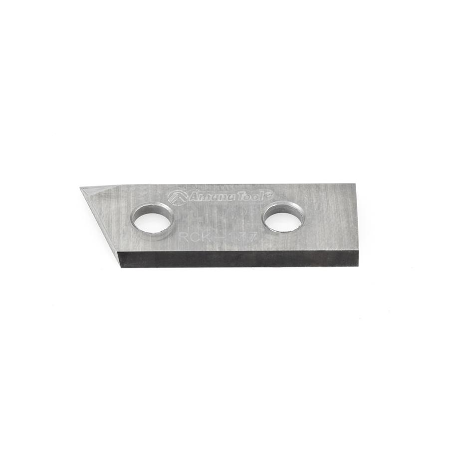 RCK-137 Solid Carbide V Groove Insert Knife 29.8 x 12 x 1.5mm Rfor C-1106, 1107, 1009