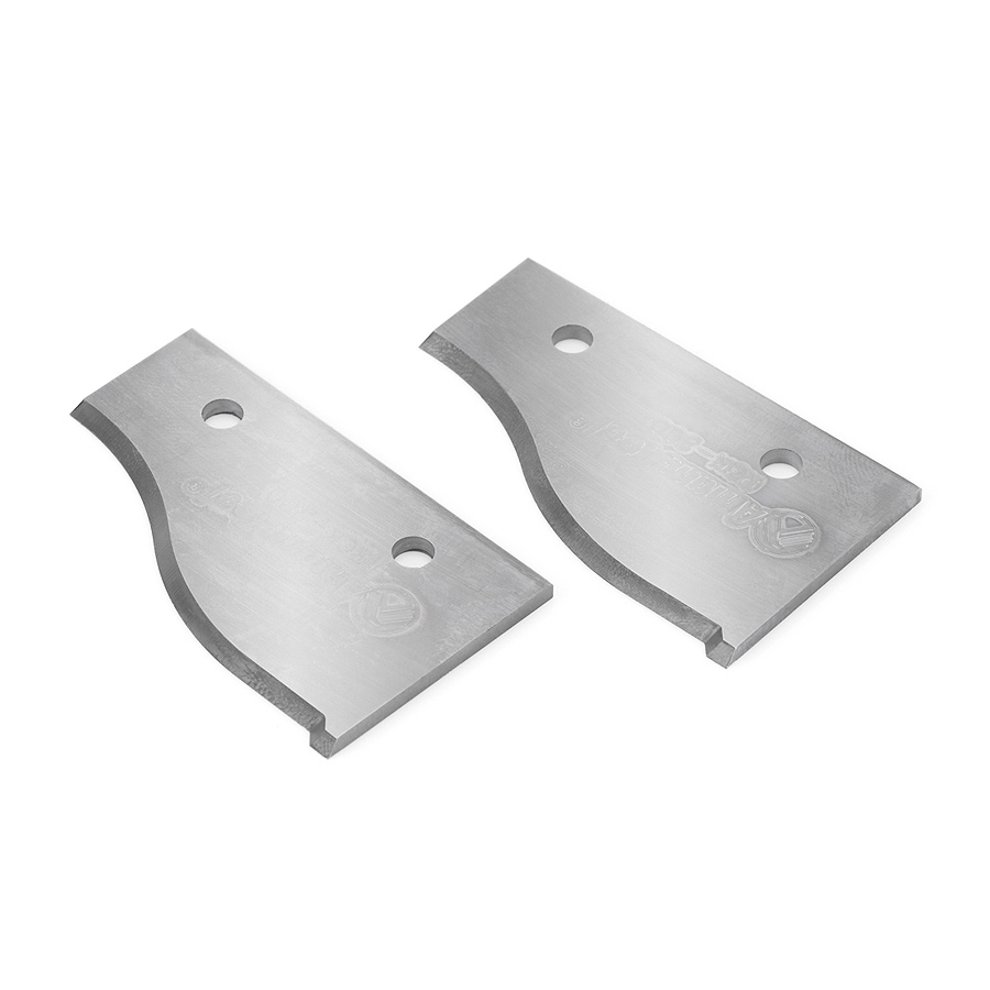 RCK-200 Solid Carbide Insert Infinity System Knife 50 x 30.5 x 2mm Profile 1 - Sold as Pair.