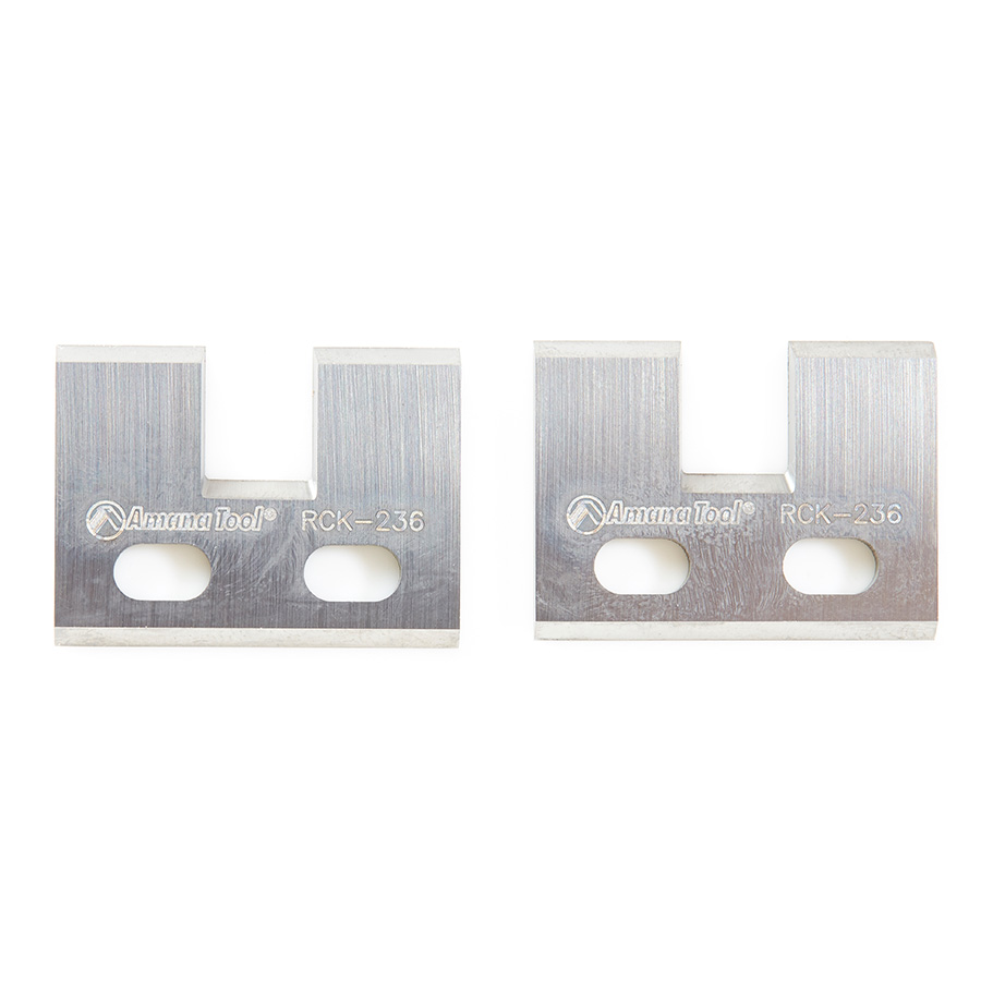 RCK-236 Pair of Insert Carbide Knives for Adjustable Tongue & Groove no. 61218