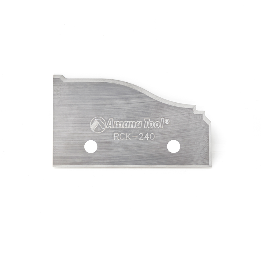 RCK-240 Solid Carbide Insert Infinity System Knife 50 x 30.5 x 2mm Profile 5 - Sold as Pair.
