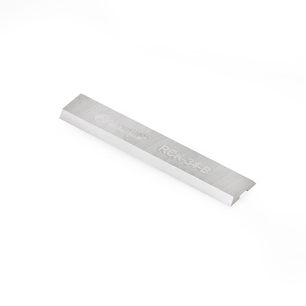 RCK-34-B Solid Carbide 2 Cutting Edges Insert Knife General Purpose Wood, Chipboard, Plywood 29.5mm x 5.5mm x 1.1mm