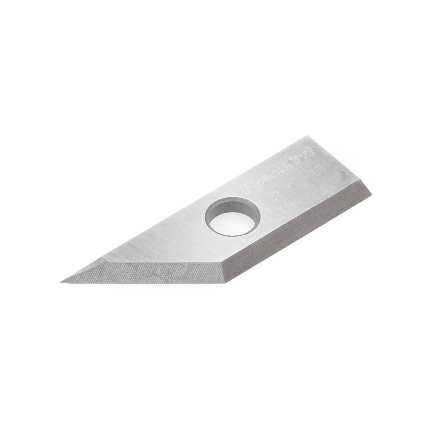RCK-350 Solid Carbide V Groove Insert MDF Knife 29 x 9 x 1.5mm for RC-1045, RC-1046, RC-1108, RC-1048