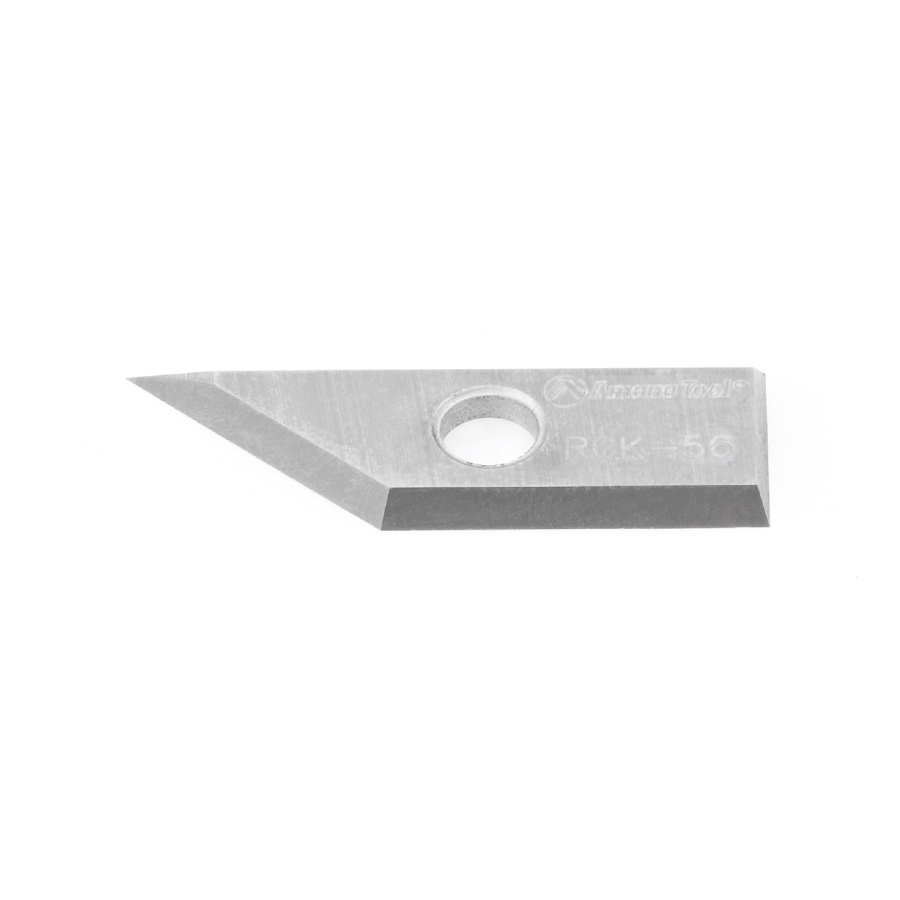 RCK-56 Solid Carbide V Groove Insert Knife 29 x 9 x 1.5mm for RC-1030 RC-1045, RC-1046, RC-1048, RC-1108, RC-1148