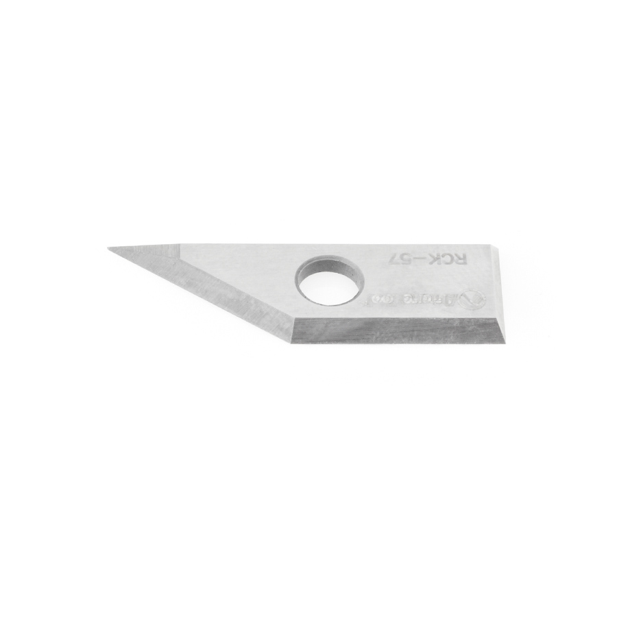 RCK-57 Solid Carbide V Groove Insert Knife 27x9x1.5mm for RC-1040