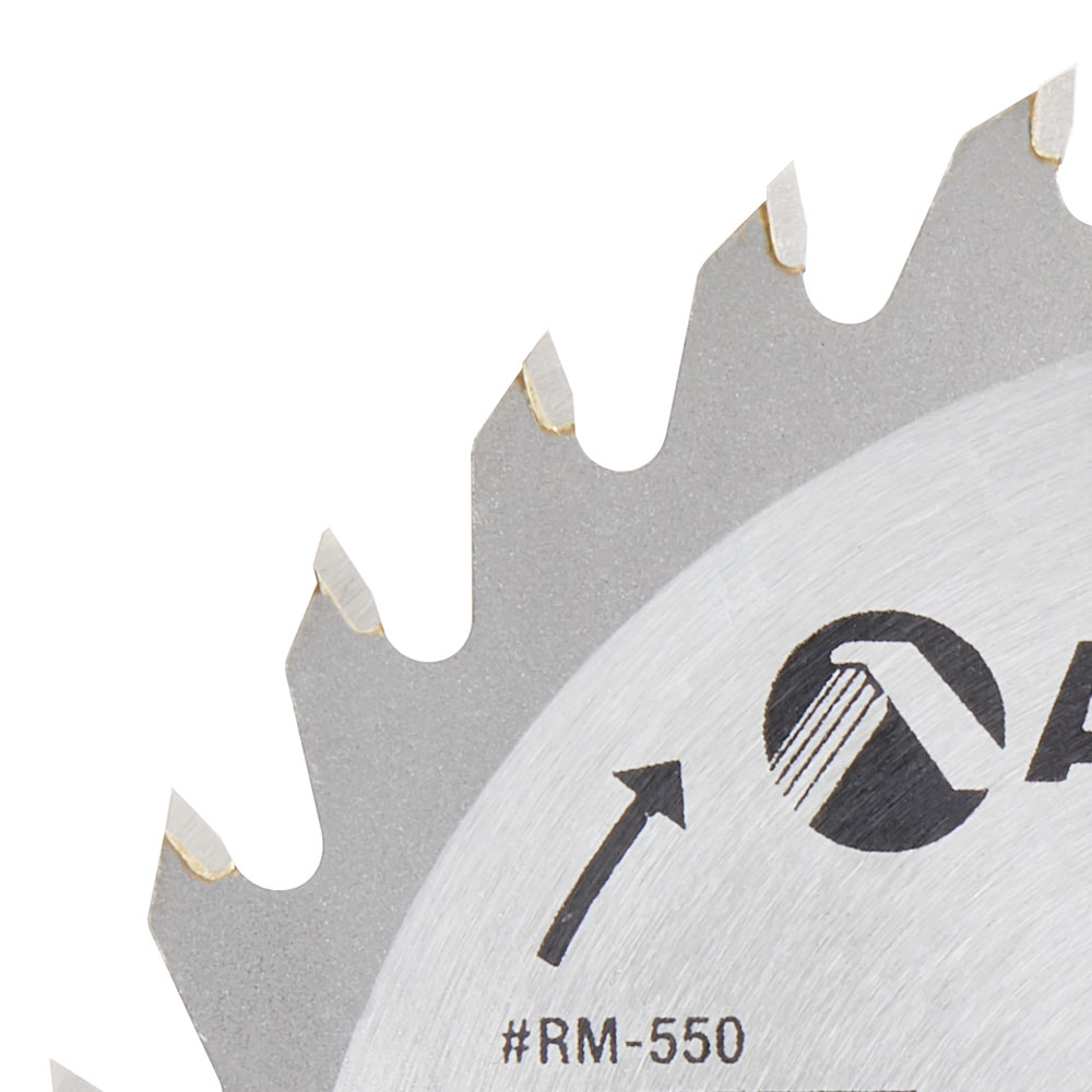 RM-550 Carbide Tipped General Purpose 5-3/8 / 5-1/2 Inch Dia x 30T ATB, 5/8 Bore
