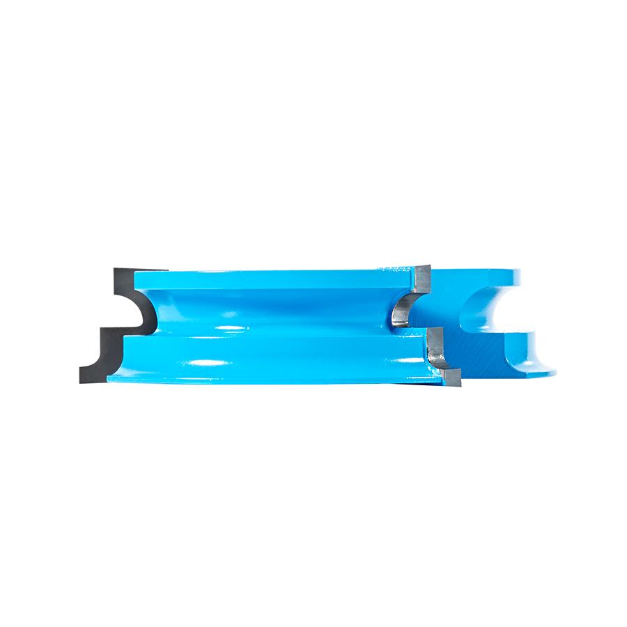 SC462 Carbide Tipped 3-Wing Ogee & Cove Door Lip 1/4 Radius x 4-5/16 Dia x 1-1/32 x 1 & 1-1/4 Bore