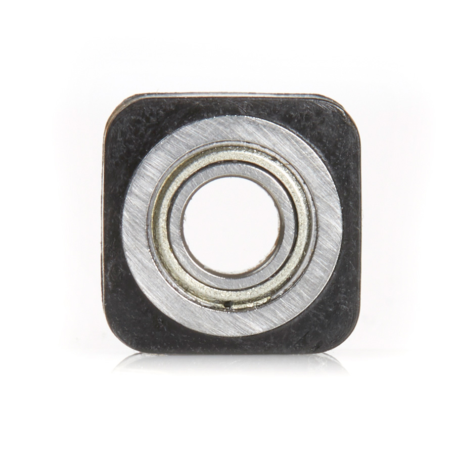 """SQB100 Euro™ Square Bearing Guide 1/2 Overall Dia x 3/16 Inner Dia x 0.223"""" Thickness"""
