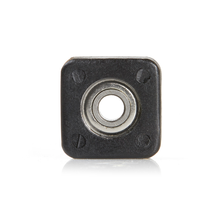 """SQB102 Euro™ Square Bearing Guide 3/4 Overall Dia x 3/16 Inner Dia x 0.273"""" Thickness"""