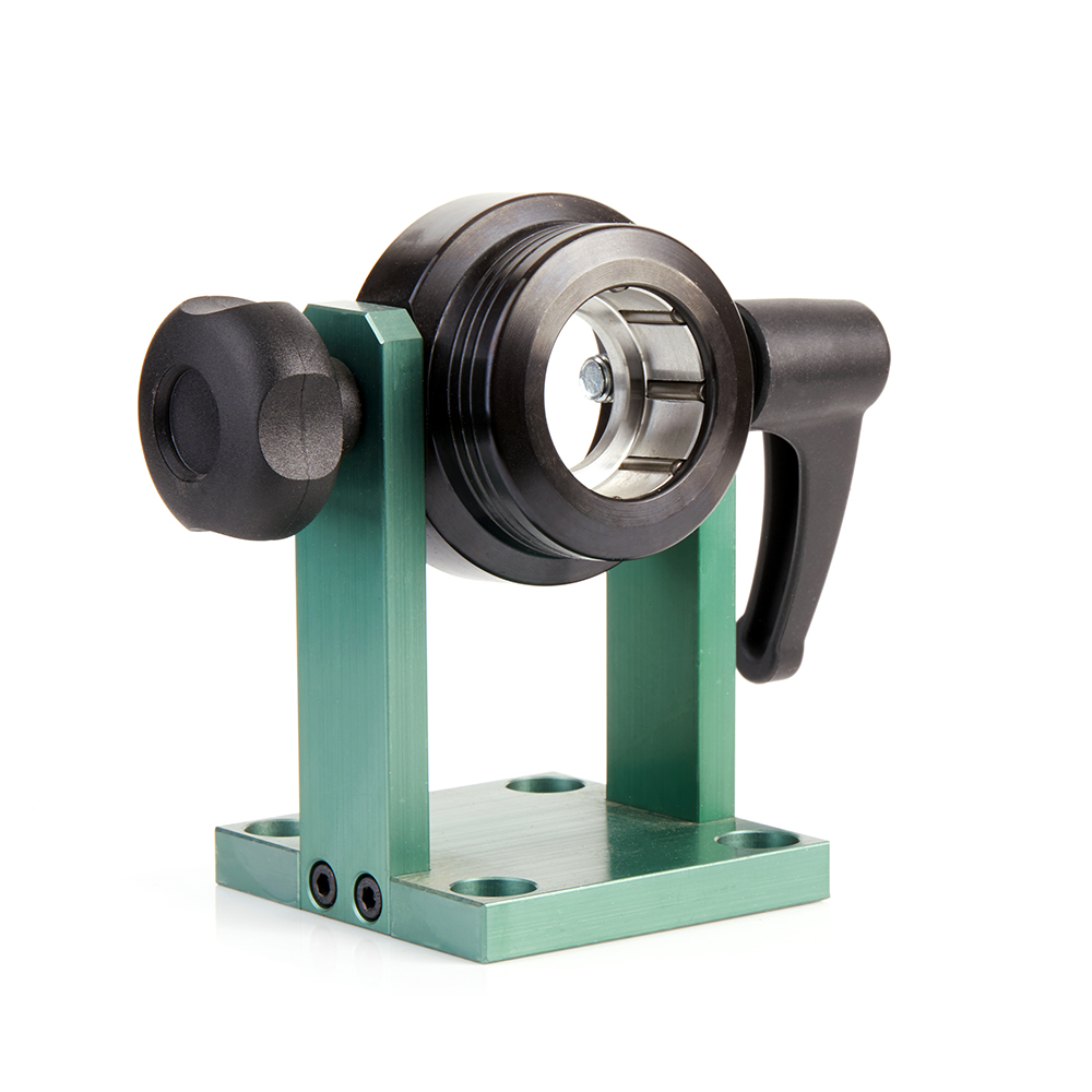 UHO-40 Universal Adjustable Auto-Locking Stand for HSK40 Chuck